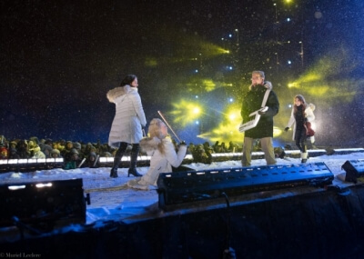 Quebec City new year's eve show