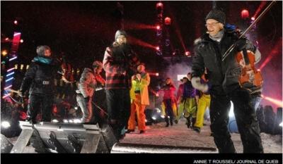 Québec jour de l'an spectacle show